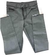 Cheap Monday Grey Cotton - elasthane Jeans for Women
