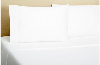 One Kings Lane Hemstitch Sheet Set - White - King
