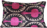 Orientalist Home Jolene 16x24 Silk Pillow, Pink