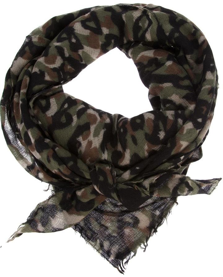 Destin camouflage scarf