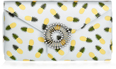 Wilbur & Gussie Edith Grey Pineapple Clutch Bag