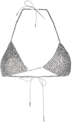 Alanui Beaded Triangle Bikini