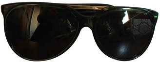 Gucci Green Plastic Sunglasses