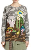 Marc Jacobs Camouflage Cotton Sweatshirt