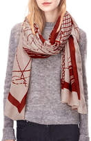Liebeskind Abstract Print Wave Scarf