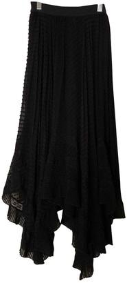 Zimmermann Black Silk Skirt for Women