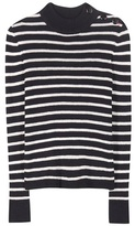 Etoile Isabel Marant Isabel Marant, Étoile Erwan Striped Linen And Cotton-blend Sweater