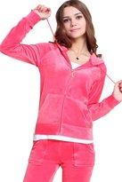 Gesdy Women's Velour Classic Hoodie Sweat Suit
