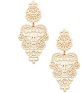 Sole Society Antique Baroque Earrings
