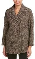 Max Mara Studio Wool & Silk-blend Coat.