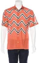 Louis Vuitton Zig Zag Print Shirt