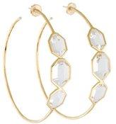 Ippolita Quartz Modern Rock Candy Hoop Earrings w/ Tags
