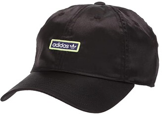 adidas Originals Relaxed Metallic Strapback (Black/Energy Ink/Hi Res Yellow/White) Caps