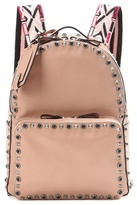Valentino Garavani Rockstud Rolling Medium Leather Backpack