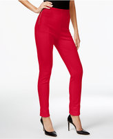 INC International Concepts Petite High-Waist Skinny Pants, Only at Macy's