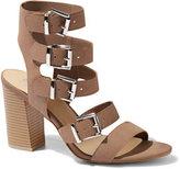 New York & Co. Stacked-Heel Gladiator Sandal