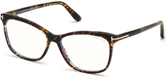 Tom Ford FT5690-BW550 Blue Light Blocking Square Optical Glasses