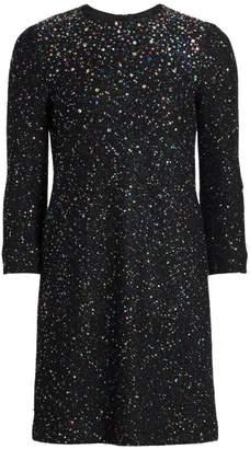St. John Confetti Sequin Knit Dress