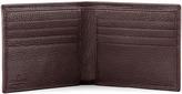 Giorgio Armani Grain Leather Logo Wallet, Bordeaux