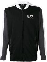 Ea7 Emporio Armani - track jacket - men - Cotton - M