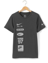 Nike T-Shirt with Logos, 6-16 Years