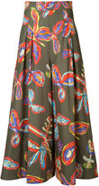 Peter Pilotto floral print wide-leg trousers
