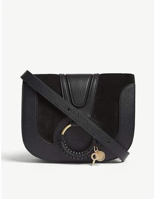 See by Chloe Hoop leather saddle bag