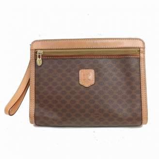 Celine Brown Cloth Clutch bags