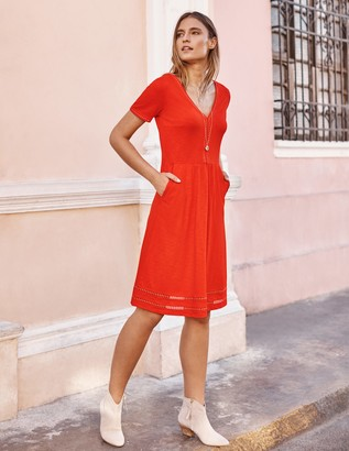 Carmen Trim Jersey Dress