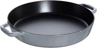 Staub 13-Inch Double Handle Cast Iron Fry Pan