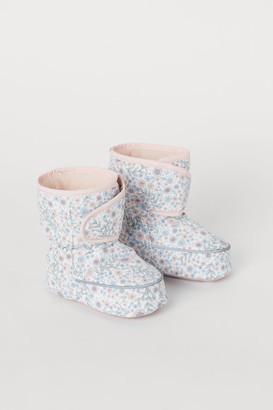 H&M Water-repellent Slipper Socks - Pink