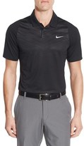 Tiger Woods Golf Apparel by Nike Men's Nike Velocity Max Dri-Fit Golf Polo