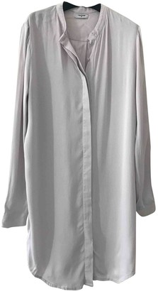Tom Wood Silver Viscose Dresses