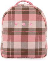 Familiar backpack bottle bag - kids - Cotton/Acrylic - One Size