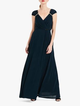 Phase Eight Larissa Slinky Dress, Teal