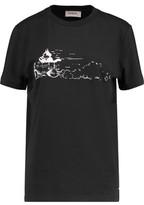 Coach Felix Driving Printed Cotton-Jersey T-Shirt