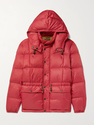 Ralph Lauren RRL Amber Quilted Padded Nylon Hooded Jacket
