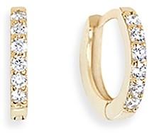 Aqua Crystal Hoop Earrings - 100% Exclusive