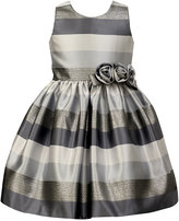 Jayne Copeland Striped Special Occasion Dress, Little Girls (4-6X)