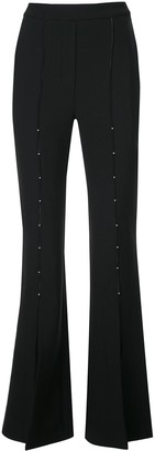 Ellery High Waisted Flared Trousers