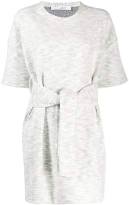 IRO tie waist T-shirt dress