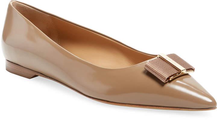 Salvatore Ferragamo Women's Leather Ballet Flats