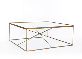 Pottery Barn Aiken Square Coffee Table