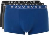 HUGO BOSS Three-pack Stretch-cotton Boxer Briefs