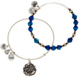 Alex and Ani Azure Beaded Bangle Bracelets - Set of 2