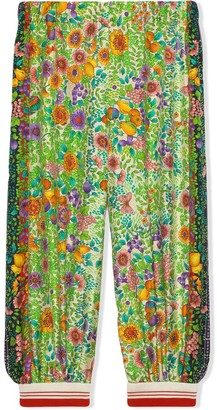 Gucci Kids Fruity Floral Jogging Trousers