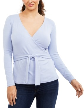 A Pea in the Pod Wrap Nursing Top