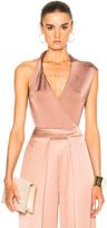 Cushnie et Ochs Gloss Jersey Bodysuit