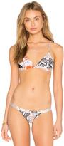Milly Capri Triangle Bikini Top