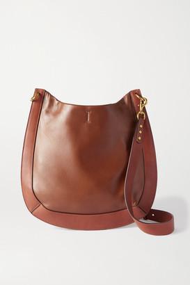 Isabel Marant Moskan Leather Shoulder Bag - Tan